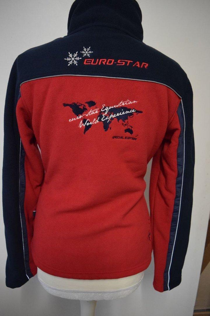 Eurostar jacke rot